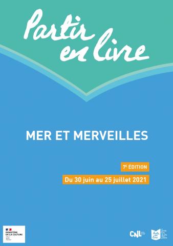 Festival Partir en livre, mer et merveilles édition 2021